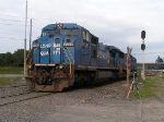 NS 8325 in Conrail paint