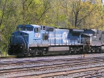NS 8347 in Conrail paint