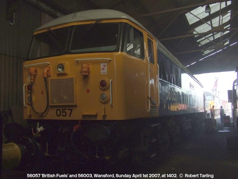 56057 'British Fuels' and 56003