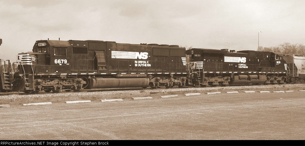 NS 6679 & 9630 in Sepia