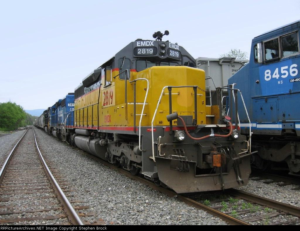 EMDX 2819, NS 3411 & 9237