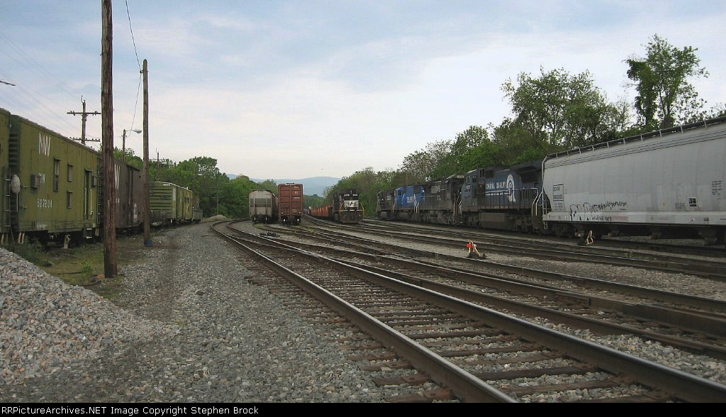 South end of the yard