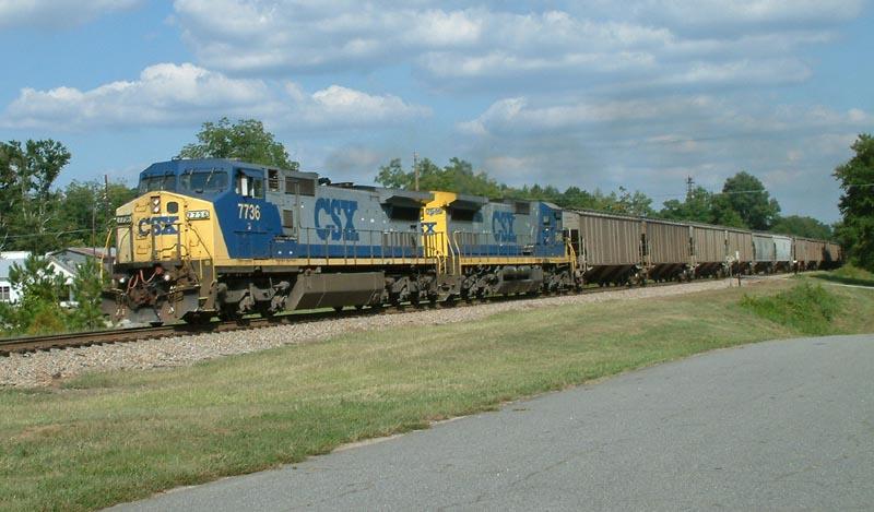 CSX Train G177