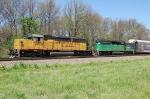 UP 3457 & HLCX 8139