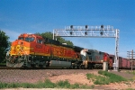BNSF 4524 and 782 DPU