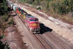 BNSF 900 lead eastbound grain