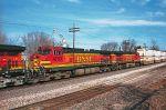 BNSF 4733 closeup