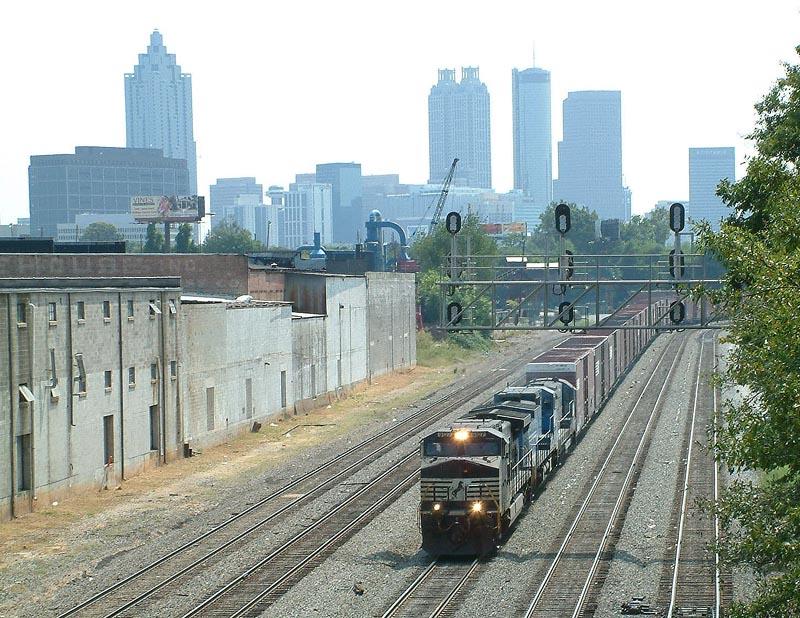 NS autoparts train