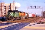 Westbound junk freight