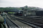 Black 5 5000 enters Bristol Temple Meads on a Special in 1983.