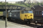 50043 'Eagle' arrives at Bristol TM with an Up working.