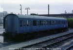 Withdrawn Class 122 trailer M56295 mysteriously rests at Bristol TM one day.