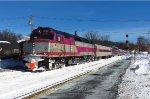 MBTA #1032 Leads Westbound