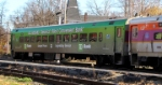 MBTA Cab Car #1502 in New Wrap