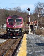Inbound MBTA Commuter...
