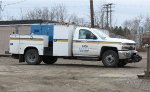 MBTA/Keolis MOW Chevy Truck