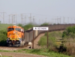 Eastbound Loaded Hopper train