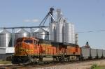 Hopper train in the siding