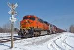 BNSF 7769 at West Saunders