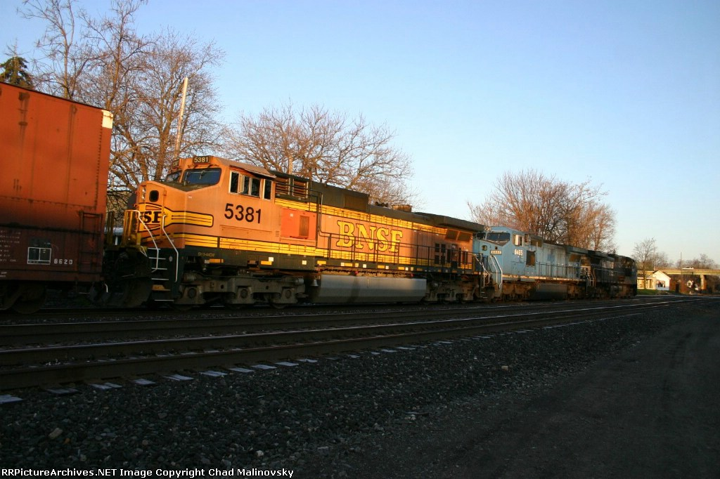 BNSF 5381