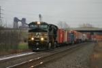 NS 9398 heads intermodal west