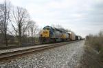 CSX 8367 leads Q500 west