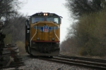 UP 4947 is tied down on Porter Branch Main 2