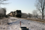 NS 9247 leads train 11M