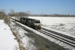 NS 2677 takes intermodal east
