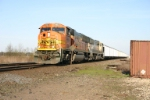 BNSF 9984 takes hoppers back to Wyoming