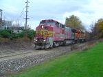 BNSF auto rack train