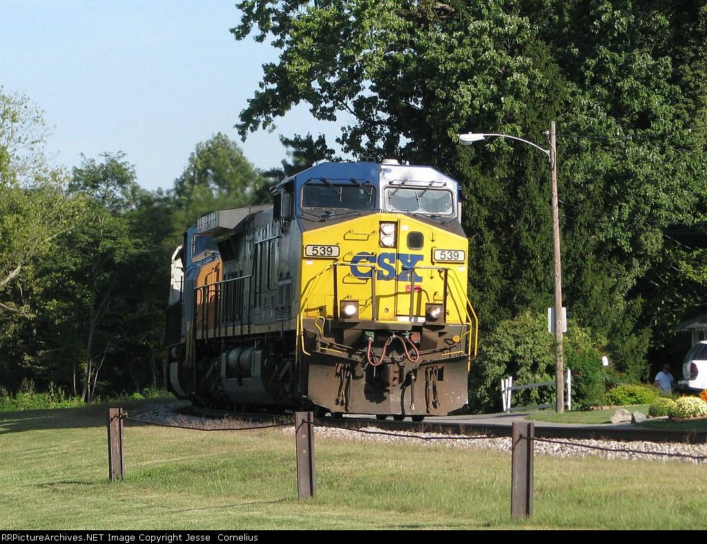 CSX 539 on Q539 Southbound