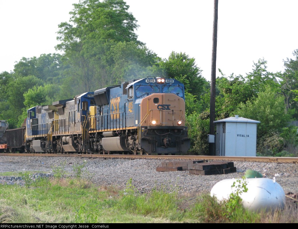 CSX 4815 on Q541-01 Southbound