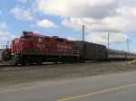 Track inspection train stabled at CP's Coquitlam Yard