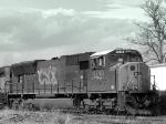 CSX 4740/SD70MAC