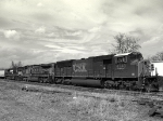 SD70MAC, AC44CW and a C40-9W