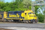 Nice ex Santa Fe GP30 on BNSF/NS transfer