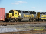 Another ex Santa Fe on the BNSF/NS transfer