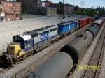 csx 8488 leads CSX train 577 south