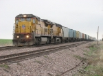 UP 9026 & 6285 with a westbound grain train