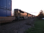 UP 8494, 4804 & 4860 trailing into the sunset