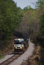 WB NS Mty Hopper Train