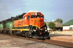 BNSF 2036 swoosh on a yard job