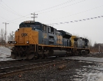 CSX 4848, Will Lead E832 Back To Buffalo