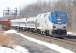 Amtrak 63 and CSX Q161