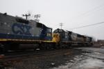 CSX Q626 Trailing Units