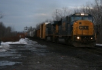 CSX Q386 Goes East Early 