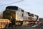 Ex-Conrail C40-8W Trailing Unit