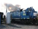 CSX 1554 Begins its Yard Work with a GP40