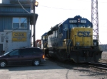 Both CSX 6207 and 1554 Begin Yard Work